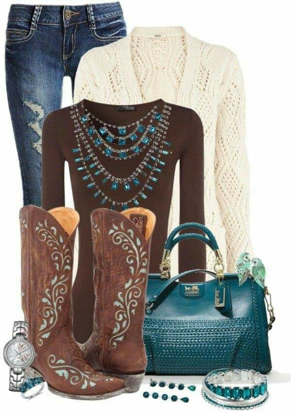 Casual country fashion (casual country outfits color combos)