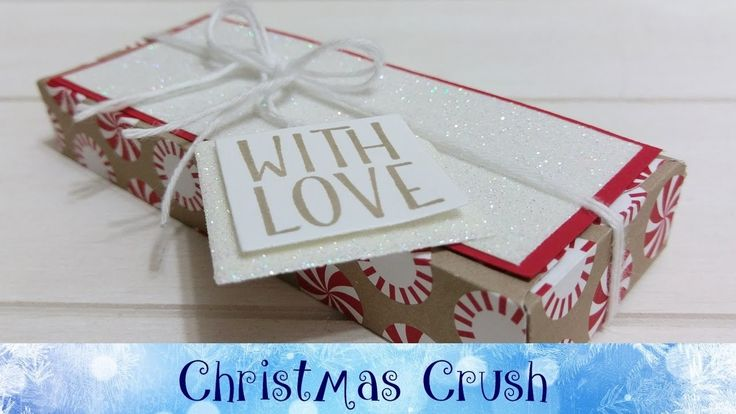 Christmas Crush Day 15 - Envelope Punch Board Box featuring Stampin' Up!...