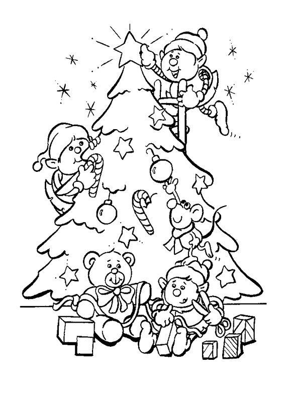 Immagini Dell Albero Di Natale Da Colorare.21 Disegni Dell Albero Di Natale Da Colorare Disegni