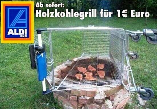 Aldi Holzkohlegrill Uk : Aldi grill einfach nur witzig