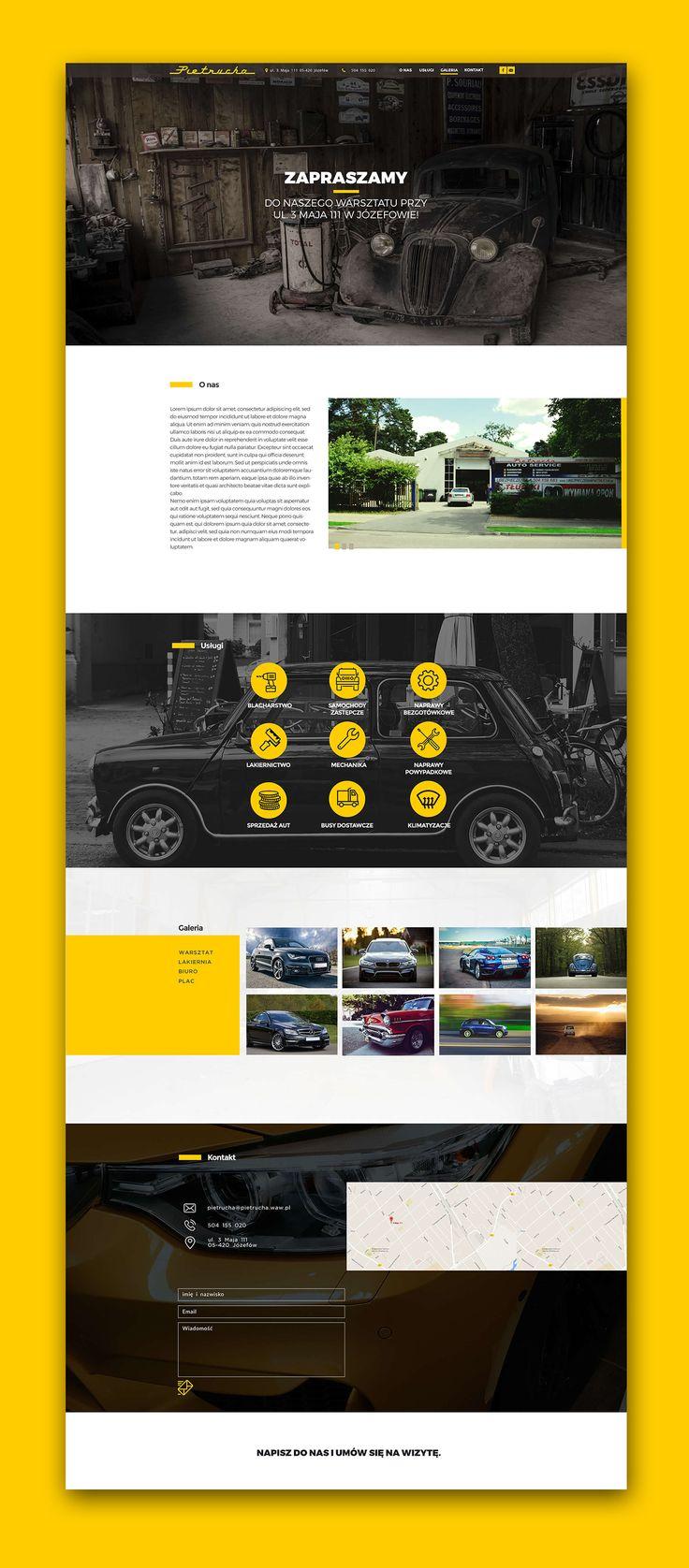 Web design inspiration UI/UX user experience fashion concept  Auto Pietrucha on Behance