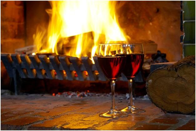 Cozy fireplace at WorldMark Resort Ballarat, Victoria