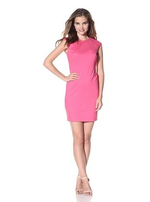 Cynthia Steffe Women's Thora Cap Sleeve Dress