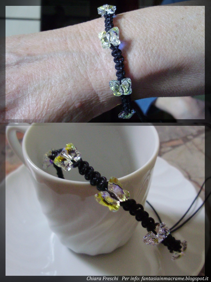 Bracelets :)   My blog: fantasiainmacrame.blogspot.it