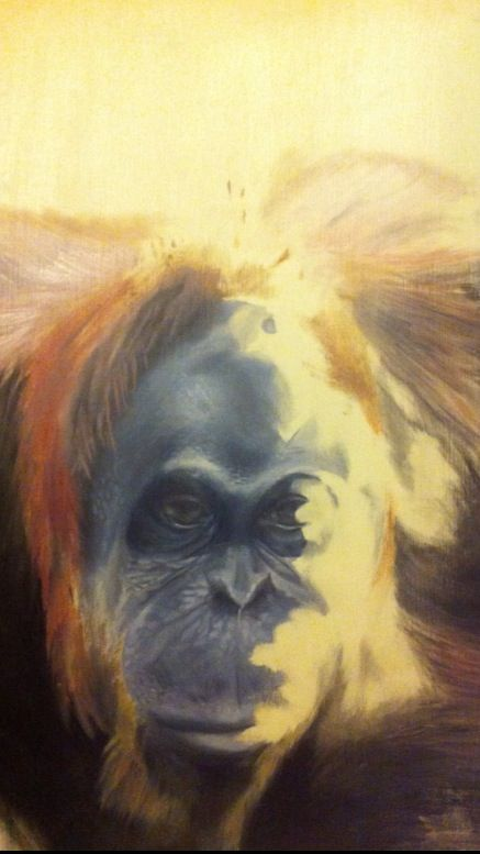Logan Moffat, 16. Oil painting