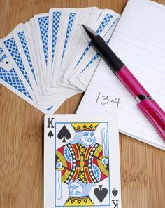 Teach your kid a fun mathematical magic trick! All you'll need is a deck of cards  and basic addition, subtraction, and multiplication skills.