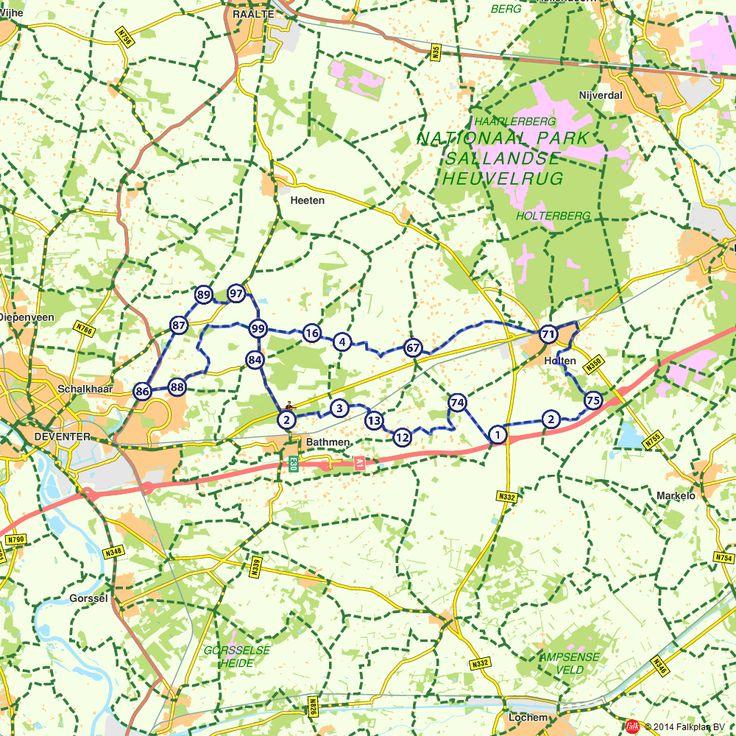 Fietsroute: Ontdek én proef Salland! (http://www.route.nl/fietsroutes/143427/Ontdek-én-proef-Salland!/)