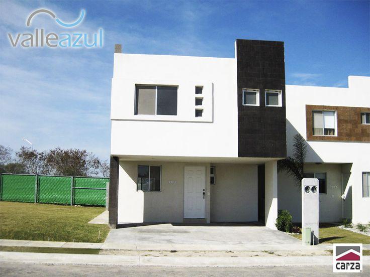 68 best fachadas de casas images on pinterest modern - Fachadas casas contemporaneas ...