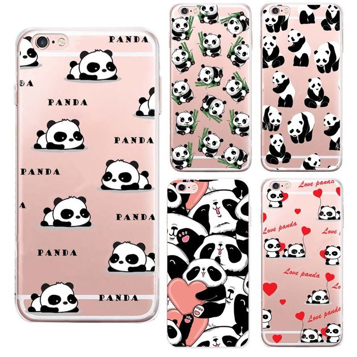 2016 New China cute panda For apple iPhone 6S case silicone Animation For iPhone 6 Plus SE 5 5s cases soft cover Coque | iPhone Covers Online