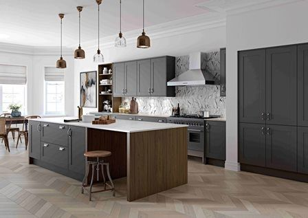 New silk painted kitchen furniture range from Masterclass