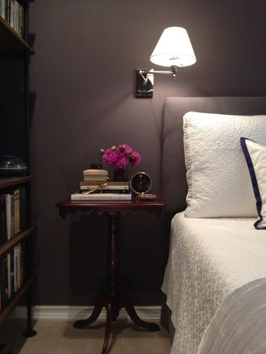 "Tricia's ""Cozy Plum"" Room — Room for Color Contest"