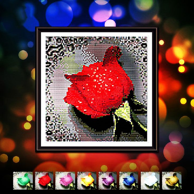 5d Diy Diamond Painting Dripping Rose 6 Color Shiny Diamond Embroidery Of Round Painting Rhinestones & Canvas Size 28cmx28cm #>=#>=#>=#>=#> Click on the pin to check out discount price, color, size, shipping, etc. Save and like it!