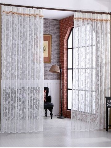 GET $50 NOW | Join RoseGal: Get YOUR $50 NOW!https://www.rosegal.com/window-curtains/leaf-rattan-sheer-tulle-curtain-1115691.html?seid=2275071rg1115691