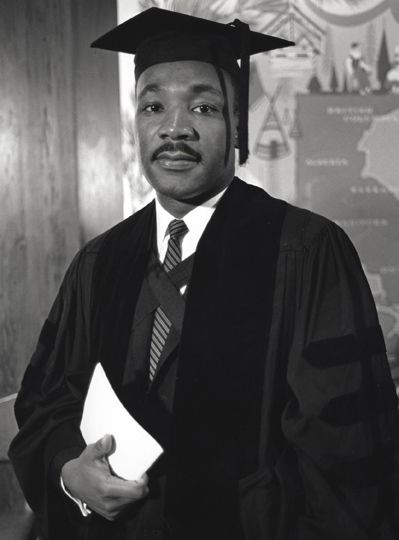 Martin Luther King Jr. - B.A. in Sociology, Morehouse College, Class of 1948..