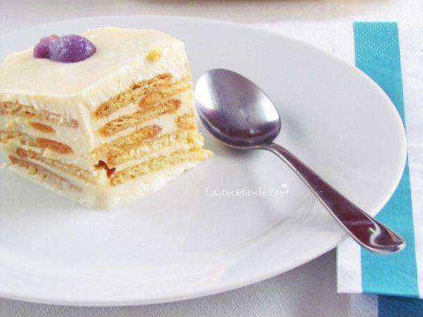 Receta muy rica, económica y sobre todo rápida, Córtala en porciones y tendrás unos deliciosos pasteles.