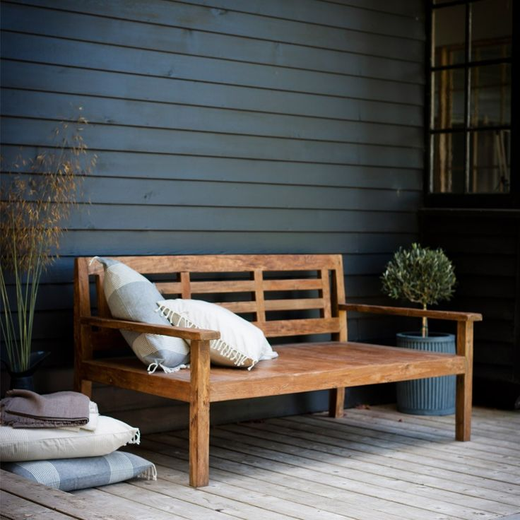 garden trading chastleton day bed reclaimed teak occa homecouk - Garden Furniture 2014 Uk