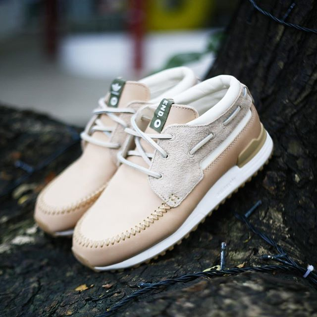 END Clothing x adidas Consortium ZX 700 Boat Shoe