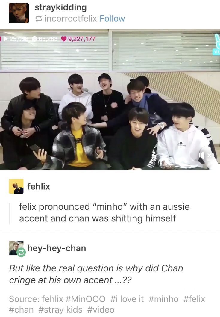 Answer : Felix doesn't talk with that heavy if an accent regularly and he was laying it on thick for the vlive and chan couldn't handle it