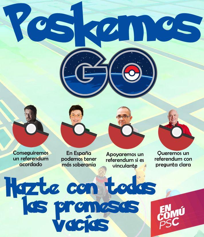 Me encanta esta nueva versión de Pokemon Go para catalanes