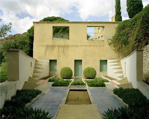 Jardin cubiste by Gabriel Guevrekian at Villa Noailles, Hyères - www.villanoailles-hyeres.com: