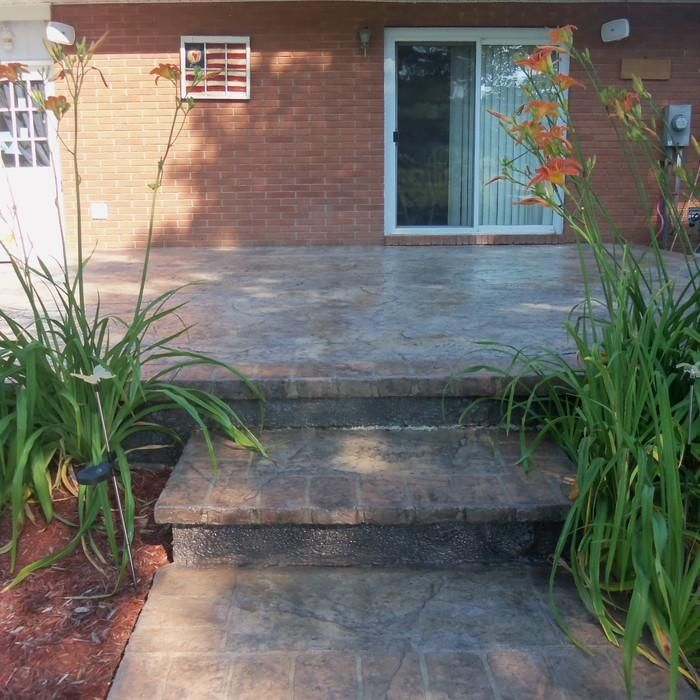 25 Best Ideas About Stamped Concrete Patio Cost On