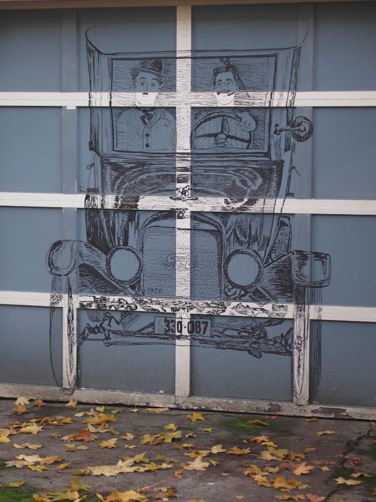 34 best garage door art images on pinterest