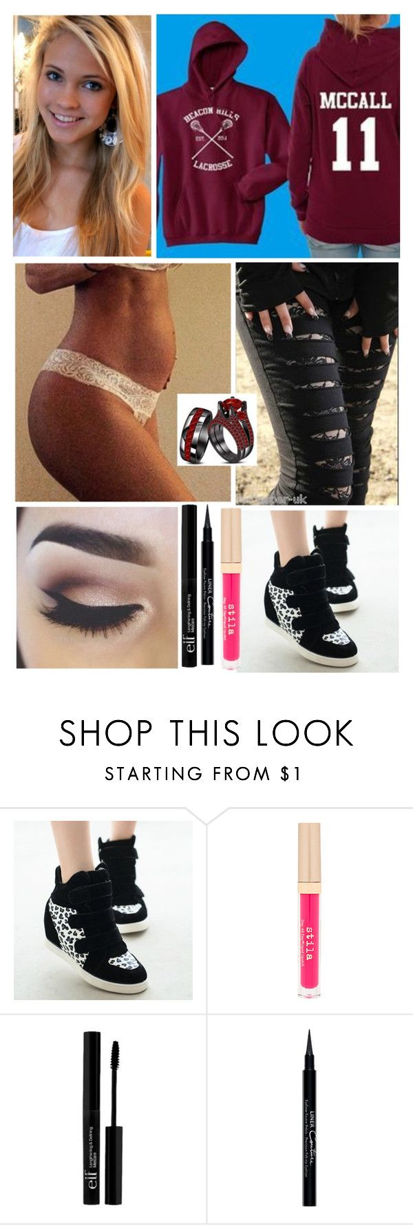 """""""First Ultrasound"""" by ashleynicoleblack ❤ liked on Polyvore featuring Poizen Industries, Stila, e.l.f. and Givenchy"""