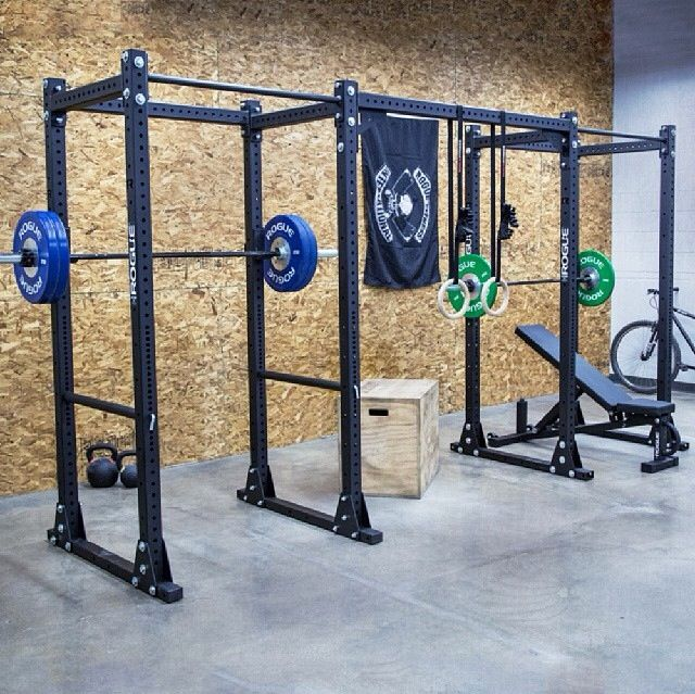 His and hers rogue home gyms garage pinterest