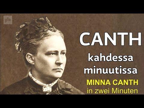 Minna Canth in zwei Minuten - Der Weg zur Gleichbereichtigung - YouTube