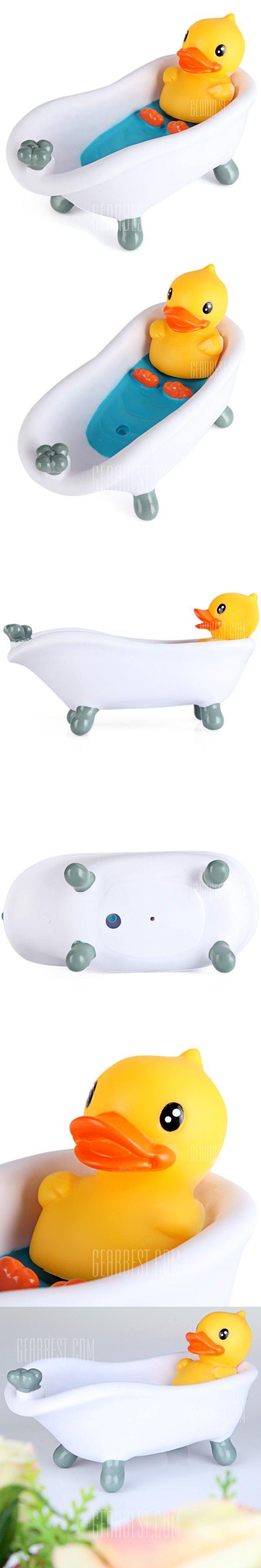 Bath toy storage that transforms to guest luxury bathroom on - Durable B Duck Bathtub Storage Box Pvc Soap Dish For Household Use