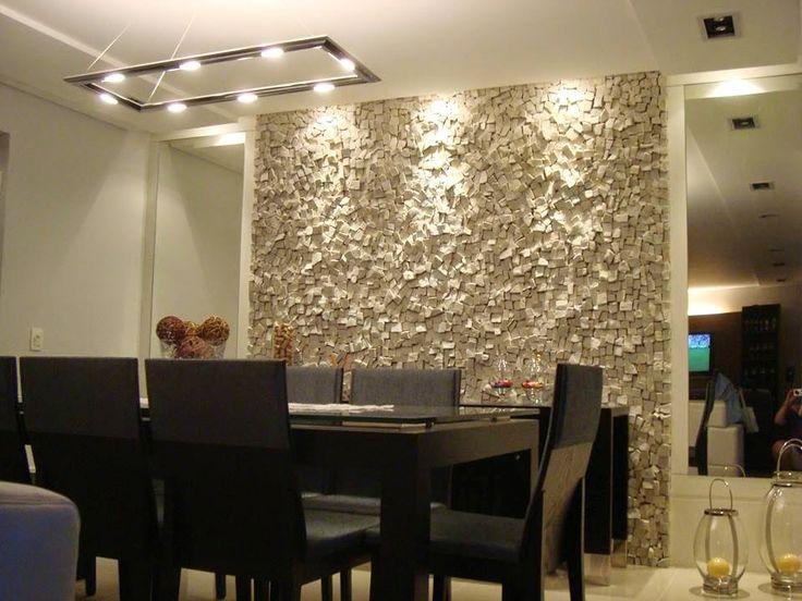 Paredes da sala de jantar com mosaico pesquisa google for Paredes decoradas para salas