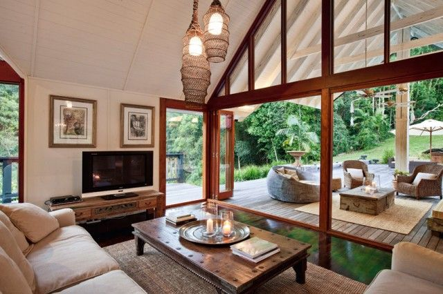 Interiors: Australian river house