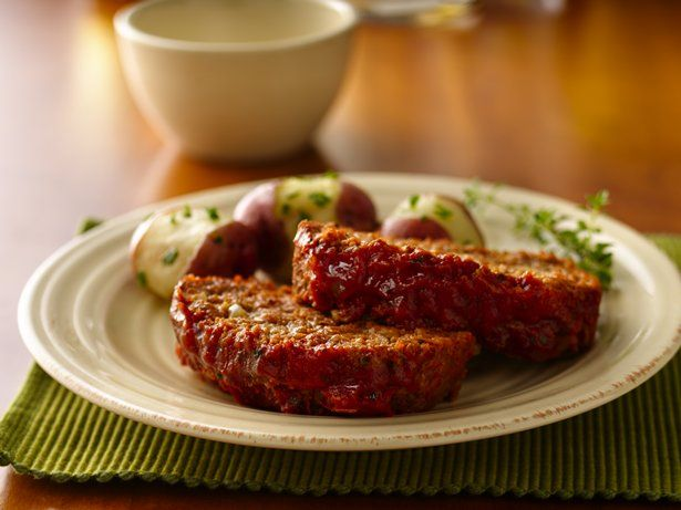 Classic meat loaf made delicious using Progresso® Italian ...