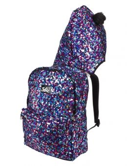 MULTI SEQUIN CRITTER HOODED BACKPACK | GIRLS BACKPACKS & SCHOOL SUPPLIES ACCESSORIES | SHOP JUSTICE