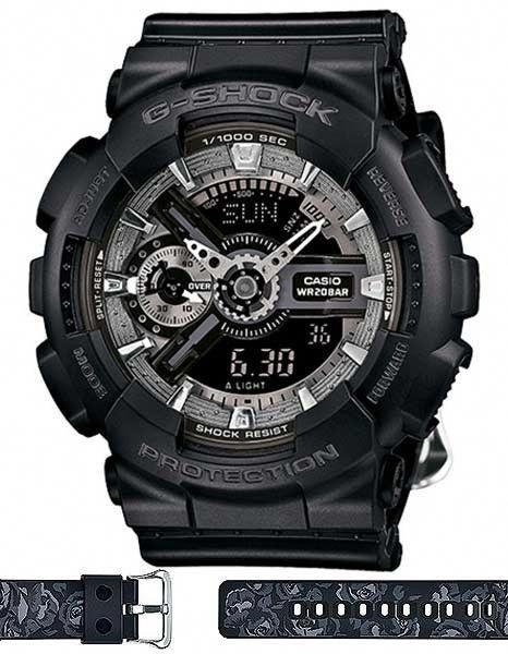 522c55282ec Casio G-Shock S Series - Analog Digital - World Time - Black   Silver -  200m  smalldigitalwatch