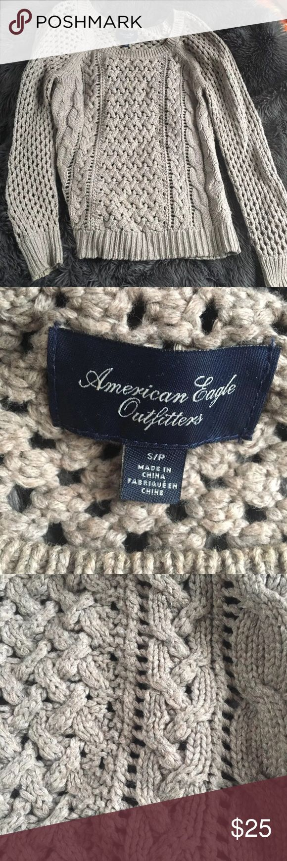 Beautiful Knitted America Eagle Sweater Beautiful Knitted America Eagle Sweater. Size small worn once. Perfect for fall would make the perfect Thanksgiving sweater American Eagle Outfitters Sweaters