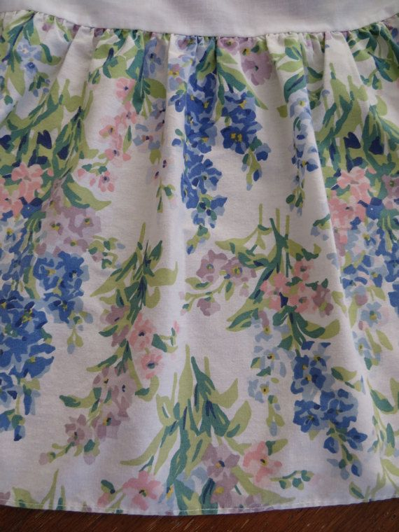 Laura Ashley Abbeville saphir pleine Double par shabbyshopgirls