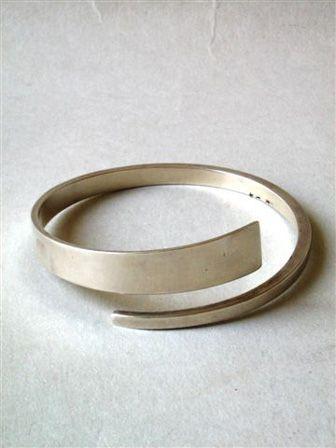 Hans Hansen, Denmark Bracelet Sterling, ar 1960 Signed: Makersmark