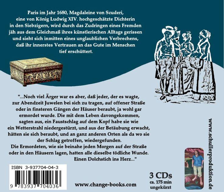 Das Fräulein von Scuderi: www.change-books.eu -http://de.pinterest.com/newchangebooks/audiobooks/