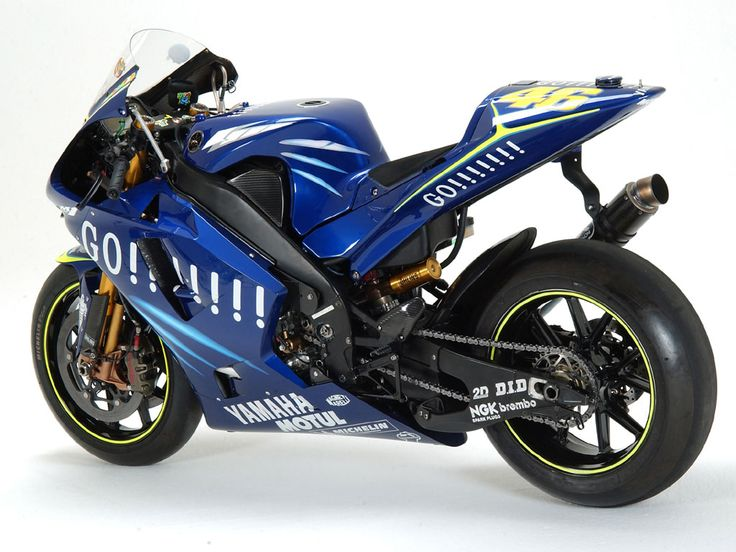Yamaha M1 Valentino Rossi...my dream bike and my favorite racer!
