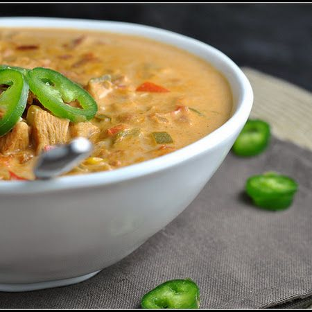 Jalapeno Popper Chicken Chili Soup Recipe — Dishmaps