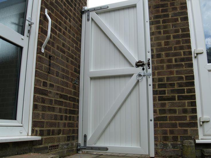 Fensys UPVC plastic single side gate