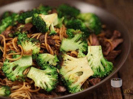 Taietei cu vita si broccoli