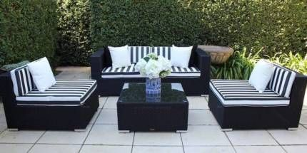 WICKER LOUNGE SETTING,5 CONFIGURATIONS,BRAND NEW,EUROPEAN STYLING | Lounging & Relaxing Furniture | Gumtree Australia Willoughby Area - Chatswood | 1133029682
