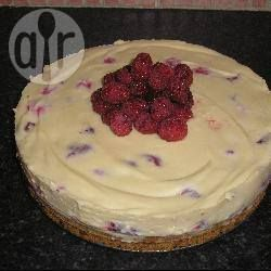 White chocolate and raspberry cheesecake-no bake and no gelatine @ allrecipes.co.uk