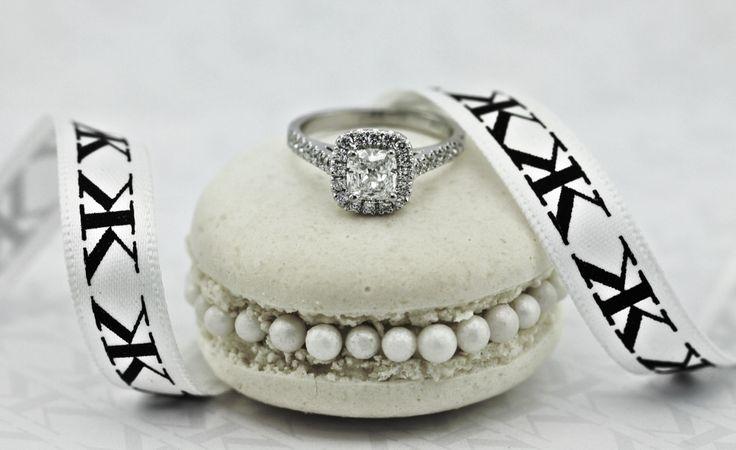 Cushion cut diamond halo engagement ring by Kalfin jewellery #kalfinjewellery #diamonds #engagementrings #gentsring #weddingring #bands #matching #custommadering #handemadejewellery #jewellers #rings #couture #fashionblogger #style #love #picoftheday #melb #cbdjewellers #detail #macarons #beauty #like #designerjewellers #diamondstud #wedding #bride #bridetobe # #cushioncutdiamond #diamondring #diamondjewellery