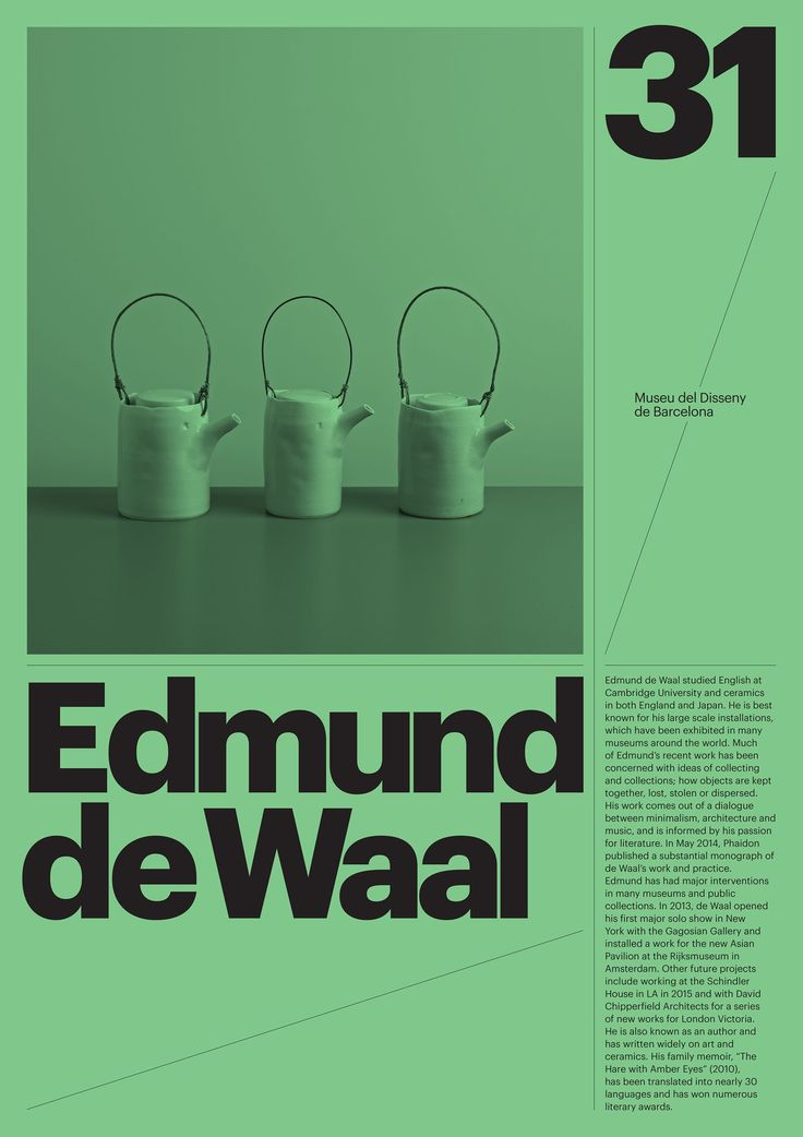 Barcelona Design Museum | Modern Typography and Graphic Design Layout Advertising Posters  | Award-winning Graphic Design | D&AD