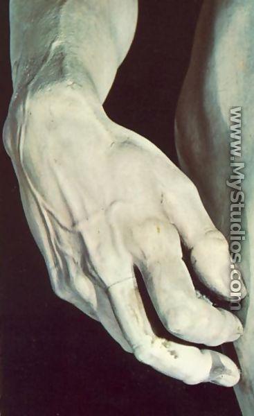 David [detail] I - Michelangelo Buonarroti