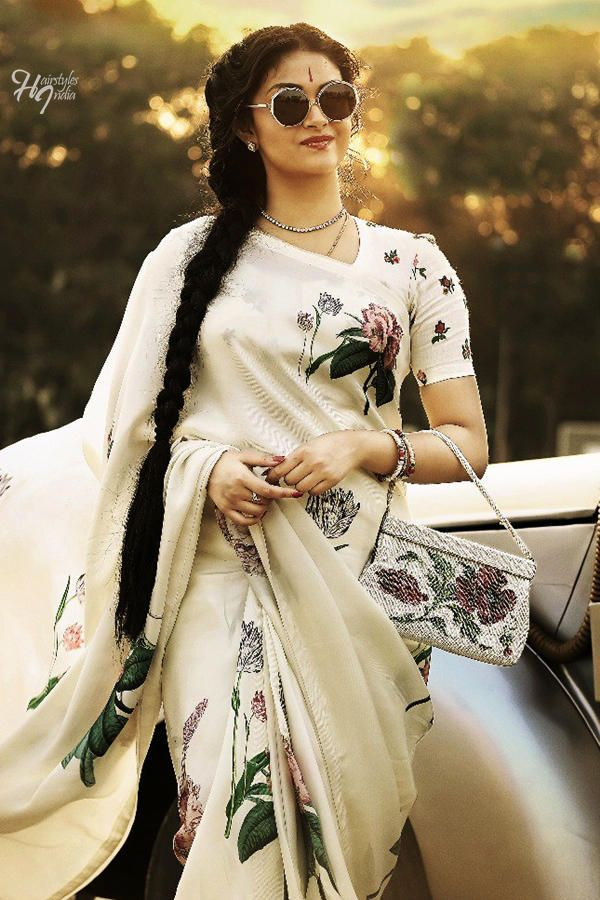 Keerthi Suresh And Dulquer S Iconic Looks In Mahanati