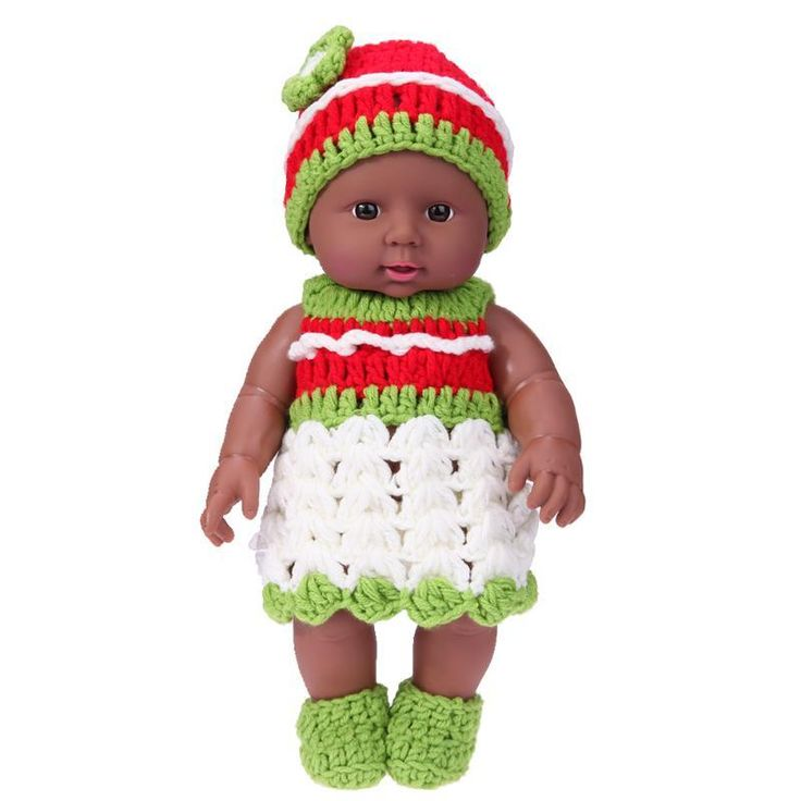 2pcs/Set Simulation Baby Doll Toys African Model Kindergarten Dolls + Green Knit Dress Children Baby Birthday Christmas Gift Shop today & Save 35%!   CC: HDS2017  Like and Share! Follow Us on Instagram forealafricandesigns     #africandoll #christmasdoll #kids #forealafricandesigns #followme